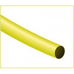 TIRA 1,22 MT FUNDA TERMORETRACTIL 4,8mm AMARILLO