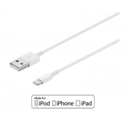 CABLE USB-A 2.0 A APPLE LIGHTNING IPHONE5/6/7, IPAD4... WIR9