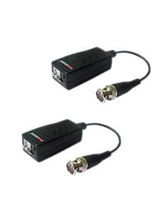 Transceptor pasivo por par trenzado - 4N1 (HDTVI / HDCVI / A