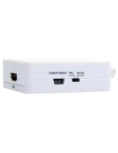 Convertidor AV a HDMI - 1 entrada AV - 1 salida HDMI - Resol