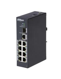Switch PoE X-Security - 8 puertos PoE + 1 Uplink RJ45 - Velo