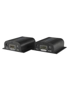 Extensor activo HDMI 4K - Emisor y receptor - Alcance 120 m