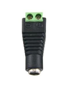 Conector SAFIRE - DC macho - Salida +/ de 2 terminales - 36