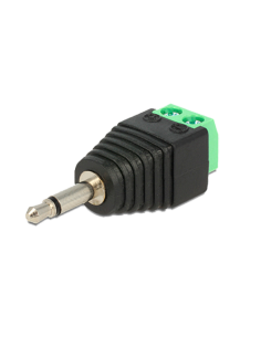 Conector - Jack 3.5 mm Mono - Salida +/ de 2 terminales - 41