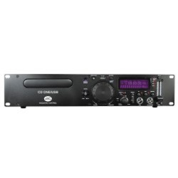 LECTOR CD/USB/SD/MP3+PITCH ACOUSTIC CD ONE/USB