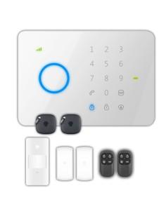 Kit de alarma doméstica - Panel táctil con módulo GSM - Enví