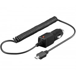 CARGADOR MECHERO MOVIL UNIVERSAL MICRO USB 1A